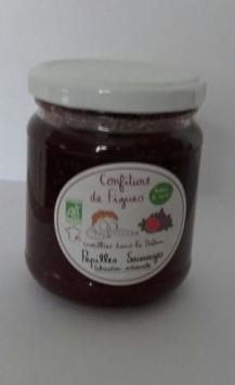 Confiture figues 240g
